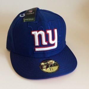 NY Giants NFL Sideline  Hat Cap 7 3/8